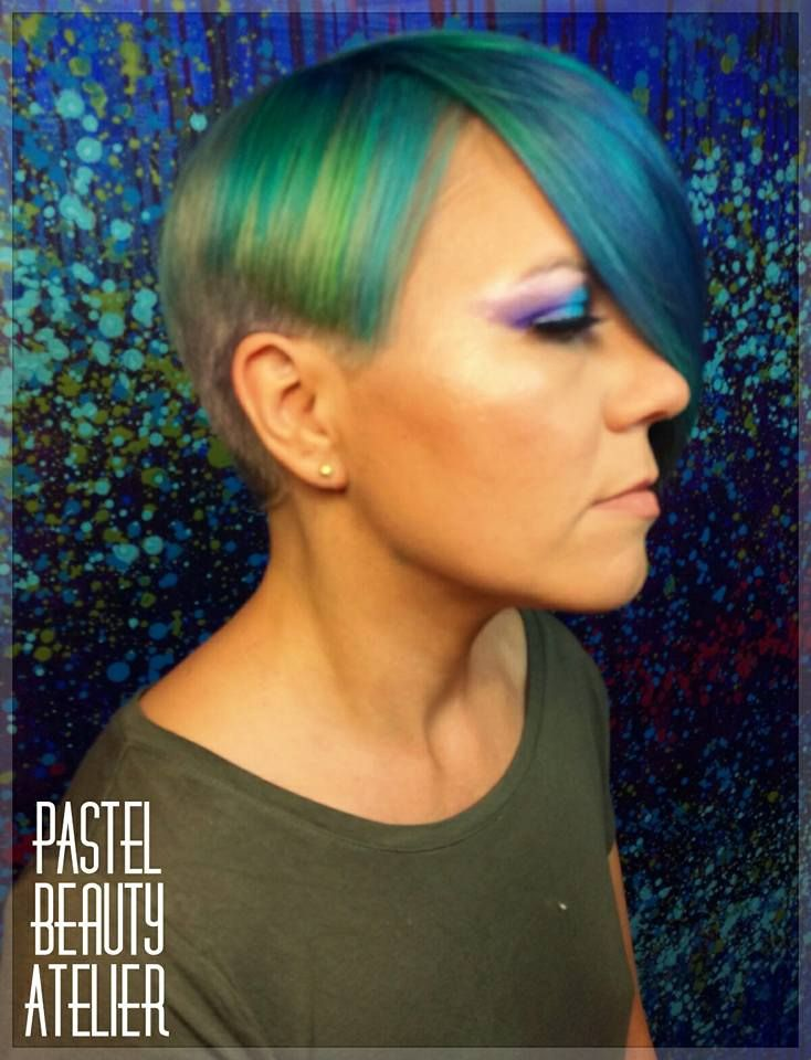 In collaboration with the very talented @codrutahappycolours and Her unique concept of beauty at @pastelbeautyatelier
