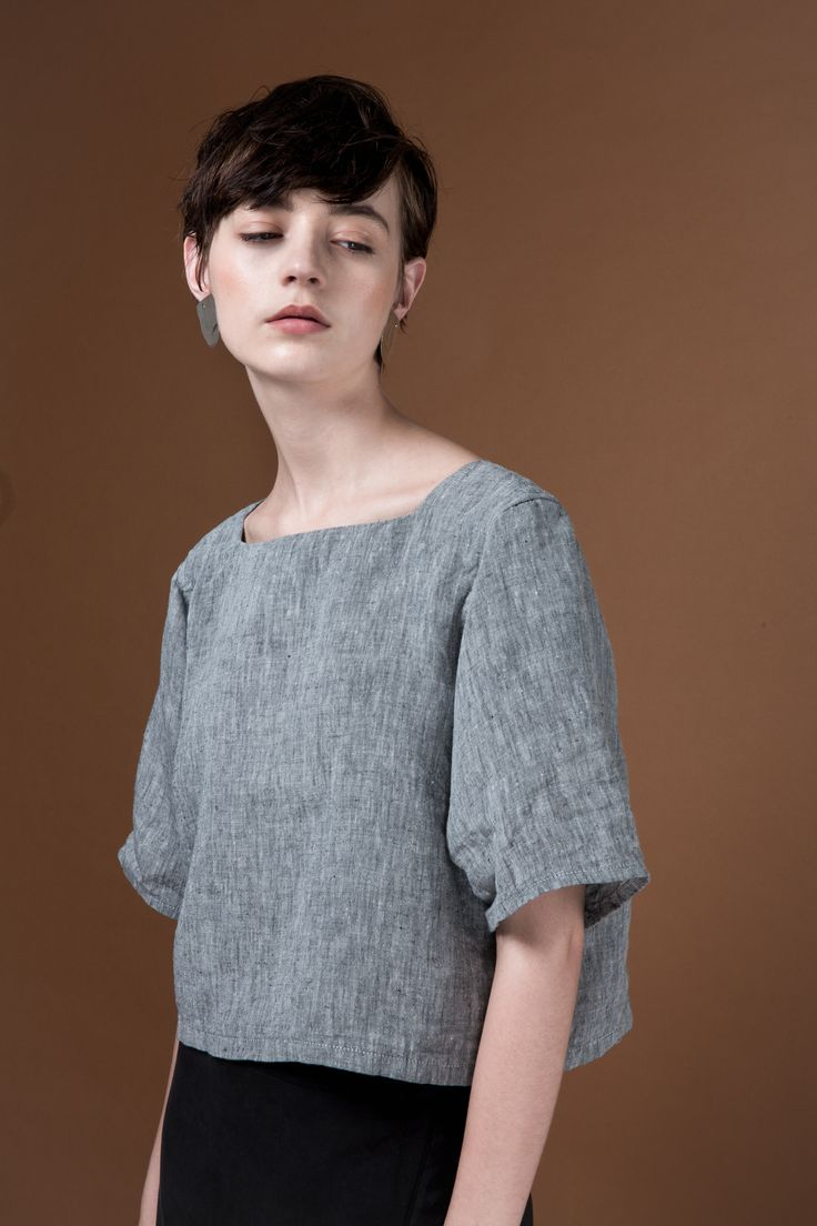 Telo Top by OVNA OVICH Made in New Zealand from consciously sourced materials