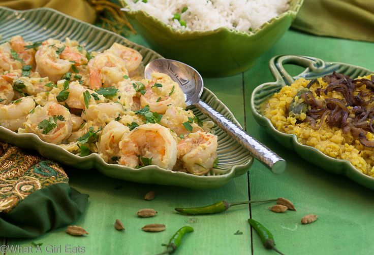 Shrimp curry Korma is a delicious, Indian spiced seafood dinner. Rich and flavorful, this meal comes together in 45 minutes. Get the recipe here!