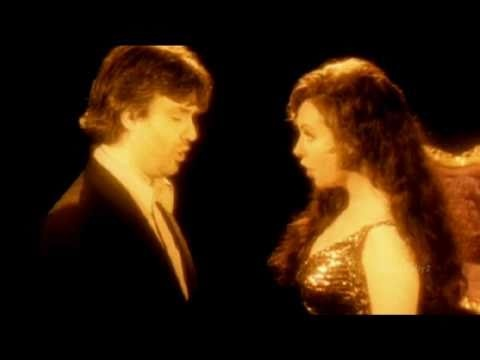 Sarah Brightman and Andrea Bocelli - Time to Say Goodbye. Absolutely love this song.
