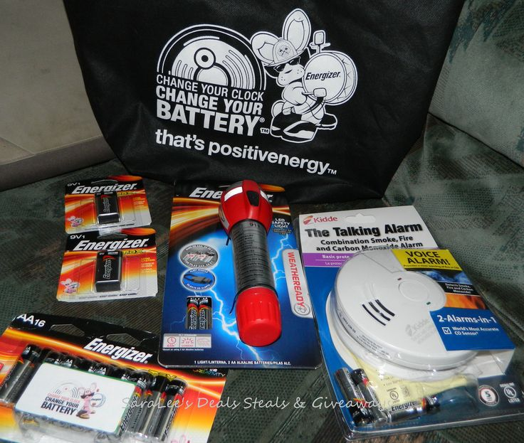 Energizer: Change Your Clock Change Your Battery & Family Safety Kit Giveaway 11/5/13 Daily US http://wp.me/p2Zbi5-1ls