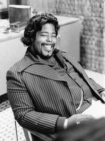 Barry White One happy man here...made many happy with his beautiful voice/music...he's on my favorite list...all time greatest singers...