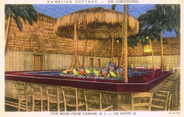 Tiki History - The Hawaiian Cottage in Cherry Hill, NJ -- Tiki Central