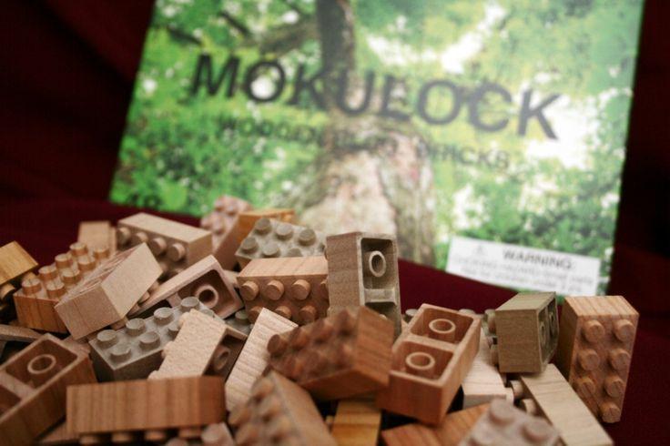 Úžasné dřevěné lego.