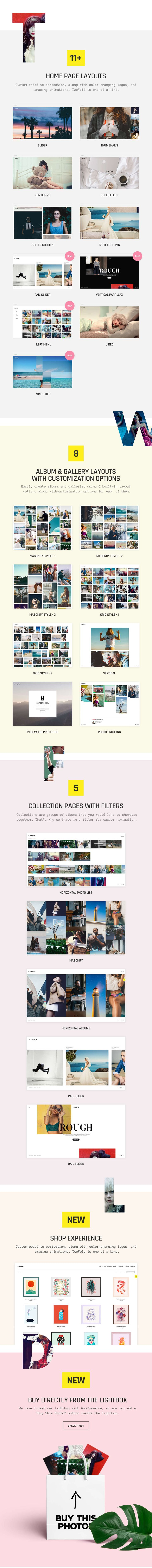 TwoFold Photography  Fullscreen Photography Theme