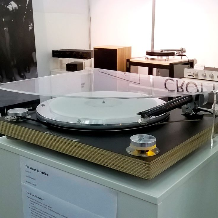 Prototype of The Wand Turntable (with The Wand Tonearm) Munich High End 2107