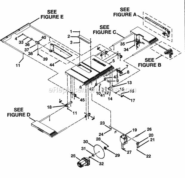 Sears Craftsman 9 Inch Table Saw Wiring Diagram : 47
