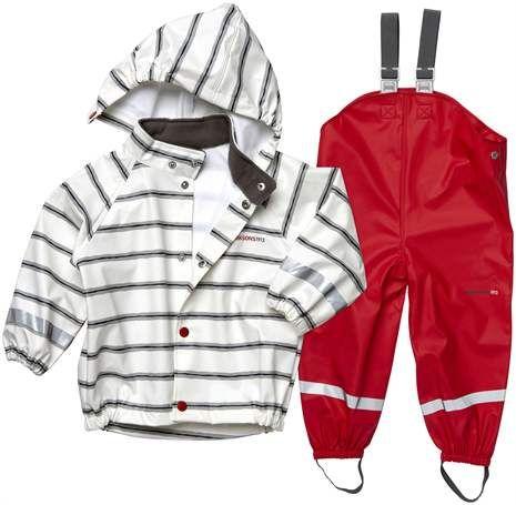 Didriksons, Regnställ, Slaskeman Printed AW14, White Creek Regnställ - Lekmer.se – Baby och Barnkläder på nätet.