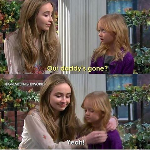 Girl Meets World (2x29) wow thanks for completely breaking my heart with this scene