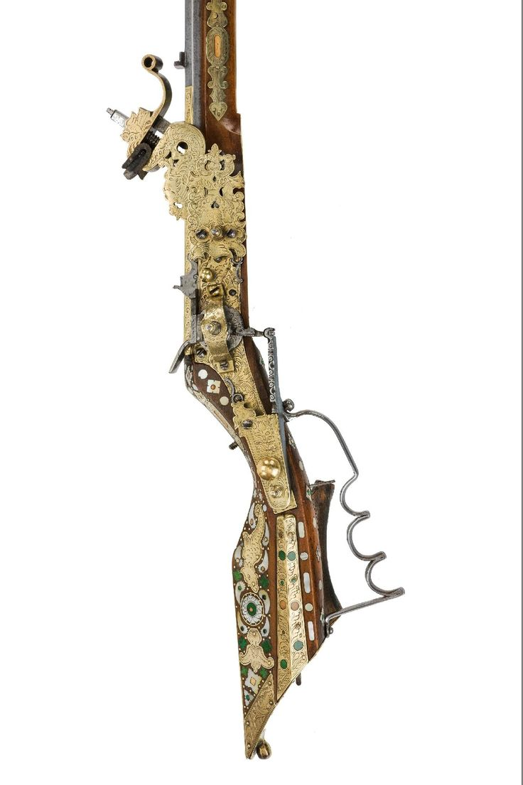 A SILESIAN WHEEL-LOCK TSCHINKE, PROBABLY TESCHEN (CIESZYN/ČESKÝ TĚŠÍN), circa 1660 -