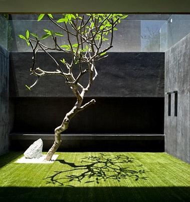Courtyard escape