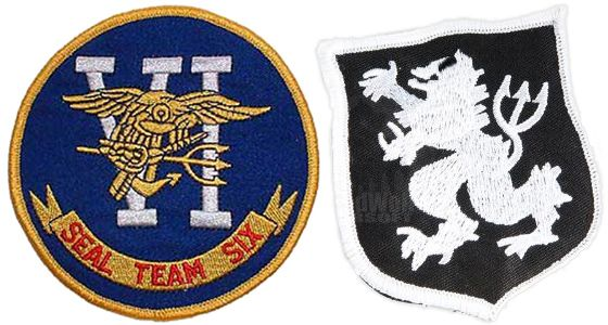 U.S. Navy Seal Team Six Patches