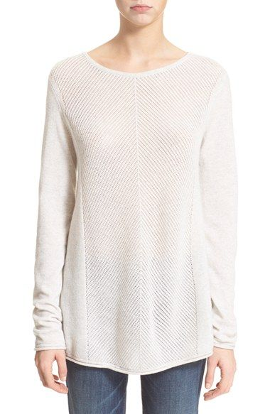 Vince Long Sleeve Cashmere Pullover