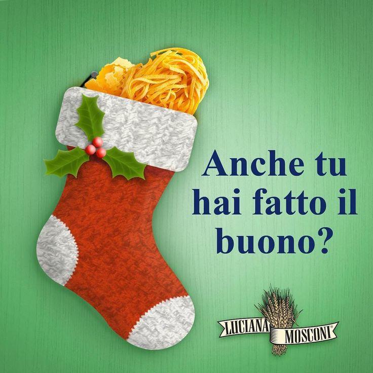 Anche tu hai fatto il buono?  #LucianaMosconi #SignoraDelleTagliatelle #Pasta #OggiLucianaMosconi #Epifania #Tagliatelle #Socks