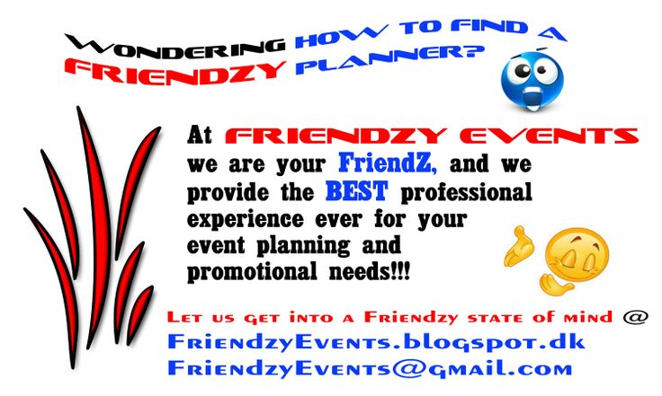 Need a Friendzy Planner or Event Management Expert?  Friendzy Events is the crossroad of business, event planning, adventure, festivals, and friendz for memorable moments!