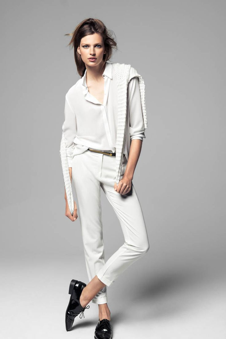 mango bette franke winter11 Bette Franke Models Cool Fashion for Mangos Winter Catalogue