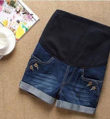 Boyfriend Maternity Shorts