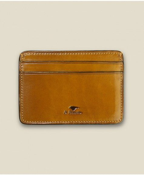 Il Bussetto - Credit Card Case - Light Brown