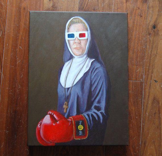 Sisters of Pugilism  Sister Mary degli occhi folli by spearmintjoe