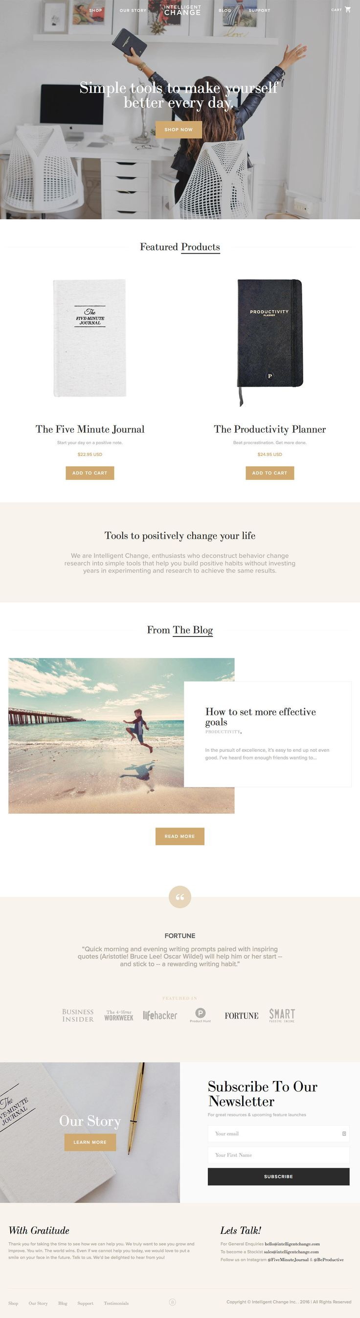 Intelligent Change (More web design inspiration at topdesigninspiration.com)…