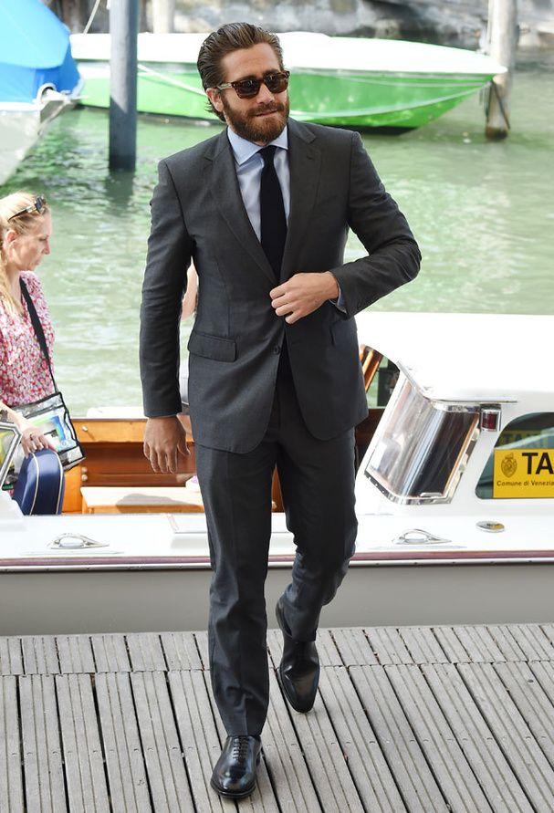 Jake Gyllenhaal en 2015 au Festival du Film de Venise