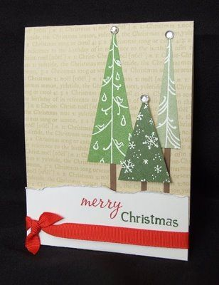 Lisa's Creative Corner: Christmas Card