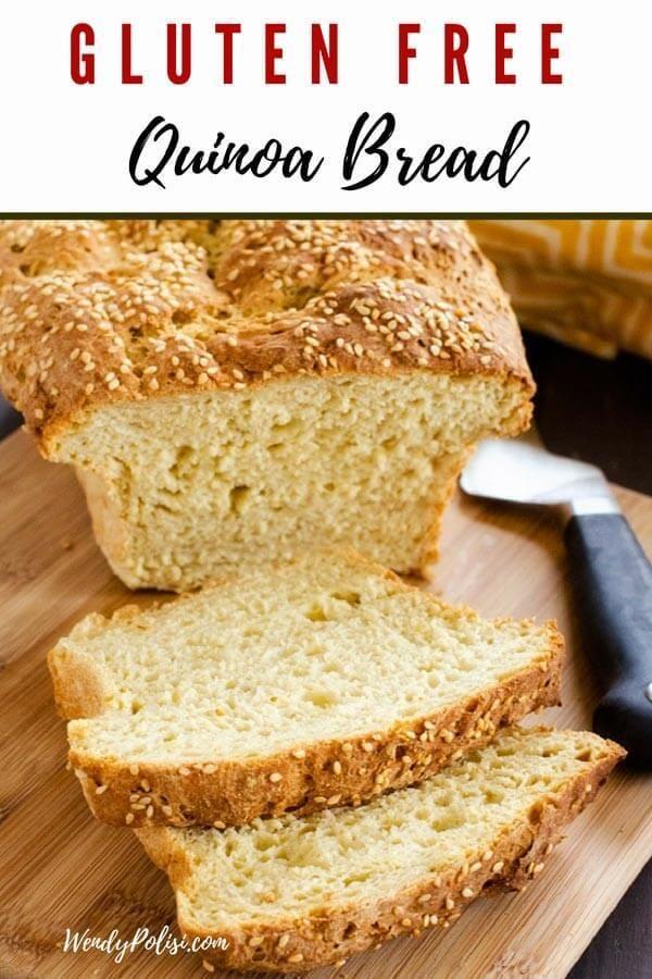 Gluten Free Quinoa Bread Recipe Quinoa Bread Savoury Food Gluten Free Recipes For Breakfast