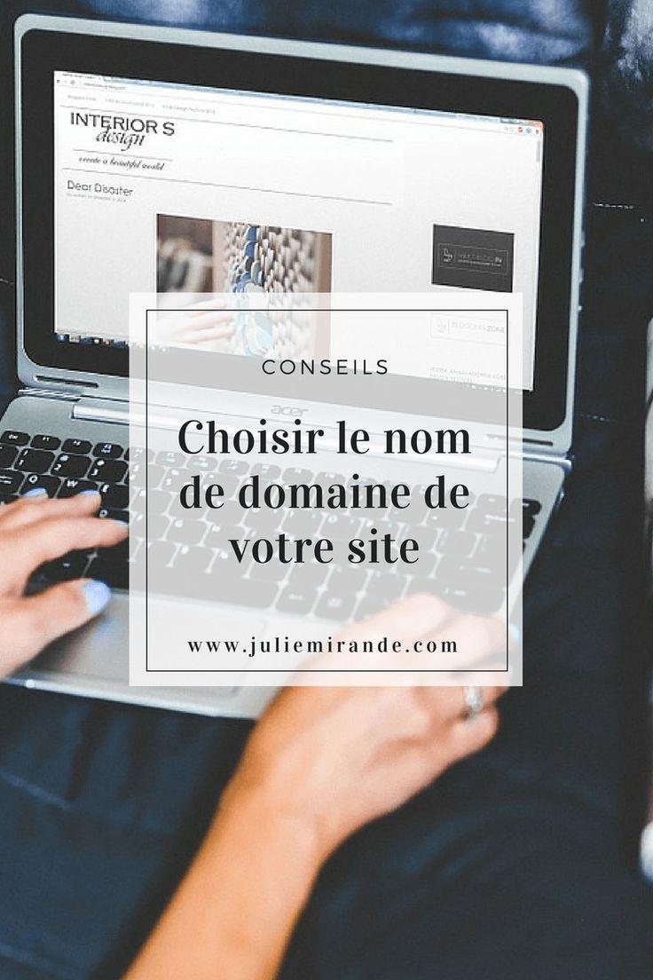 Choisir le nom de domaine de votre site avec ces conseils
