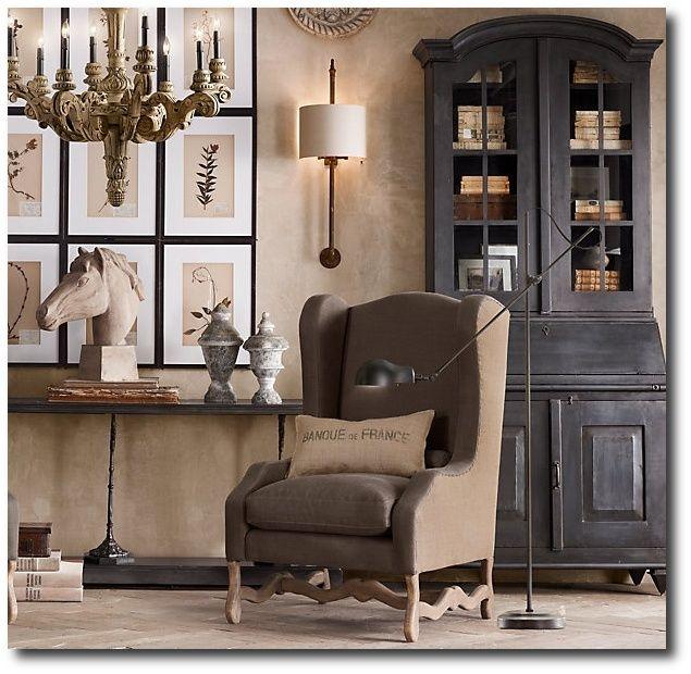 restoration hardware decor. Restoration Hardware 299 best images on Pinterest  Living room