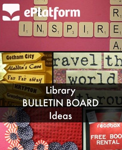 School librarians, Is your library engaging and inviting? Make sure your brick and mortar library space welcomes students. We found 5 cool ideas for library bulletin boards. Which one is your favorite?