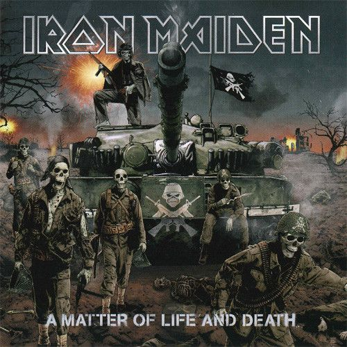 Iron Maiden - A Matter of Life and Death 180g Vinyl 2LP June 23 2017 Pre-order