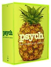 PSYCH: THE COMPLETE SERIES SEASONS 1-8 DVD SEASON 1 2 3 4 5 6 7 8 NEW SET