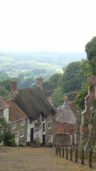 Shaftesbury, Dorset. England, Uk.-