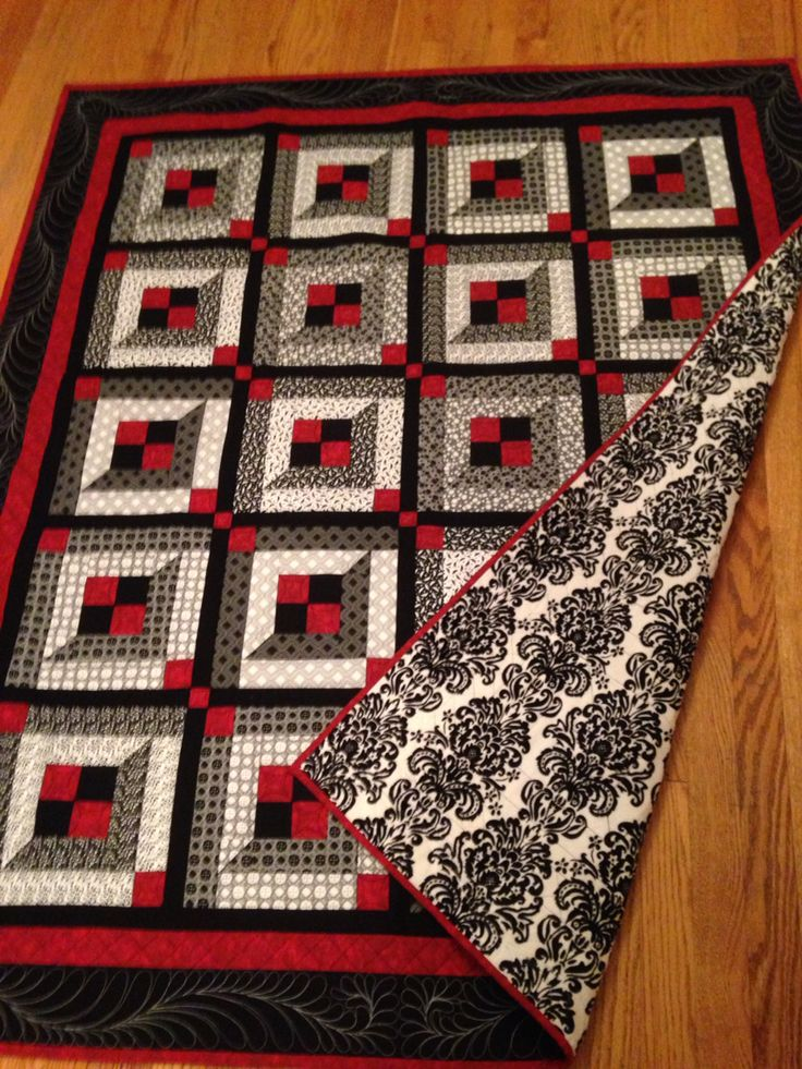 Black and White and Red all over - March 2015