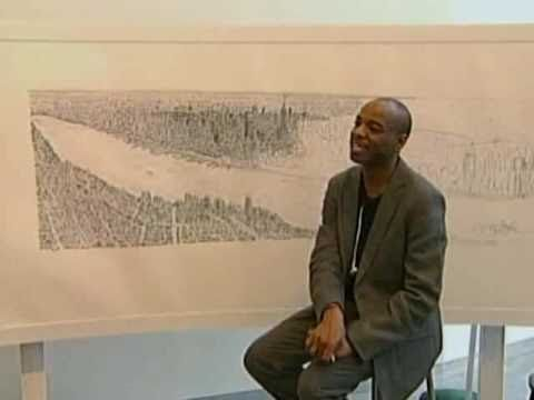 Stephen Wiltshire has an incredible gift. The London based artist is able to draw stunningly detailed landscapes all from memory. Sydney, London, Los Angeles, he has drawn them all. Now he is conquering his biggest city yet, New York.