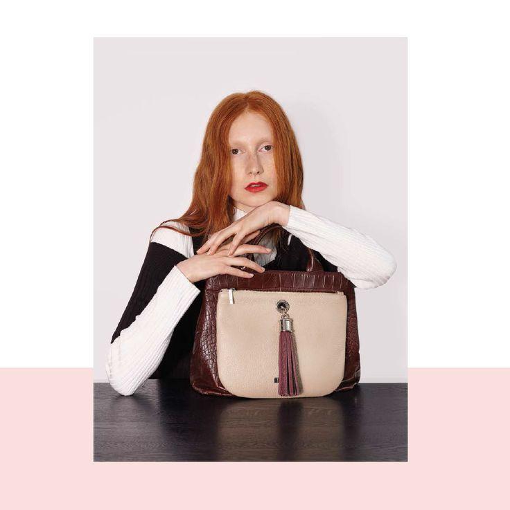 VVA Handbags - Moc Croc Bag  http://www.vva.co.uk/products/dahlia-brown-croc