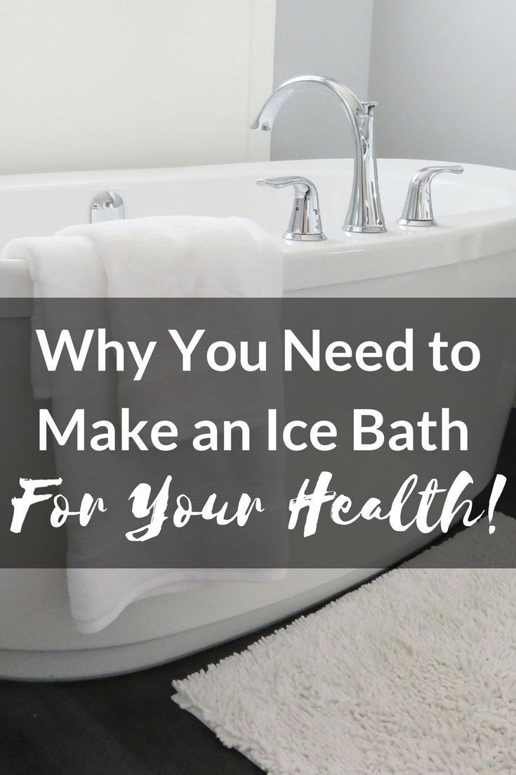 If you are not making ice baths for your health, you are missing out! Learn the benefits of soaking in ice water and how you can reduce inflammation, reverse aging and sharpen your thinking. #icebath #coldthermogenesis