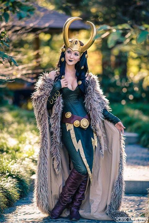 Lady Loki Cosplayer: Ashlynne Dae Photographer: York In A Box - Visit to grab an amazing super hero shirt now on sale!