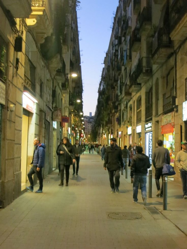 Carrer Joaquin Costa Street Barcelona