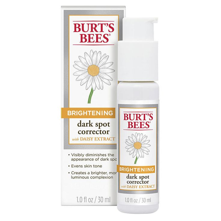 Brightening Dark Spot Corrector - Burt's Bees Dark Spot Corrector- This is an amazing product. I saw immediate lightening of my dark spots and blemishes. $20