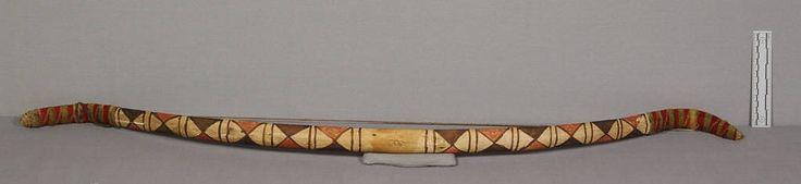 Лук, Не Персе. А. Донор Adj Gen. Alfred C. Hawley, 1938 год. Айдахо/Орегон или Вашингон. Размер 45 х 2 дюйма. NMNH.