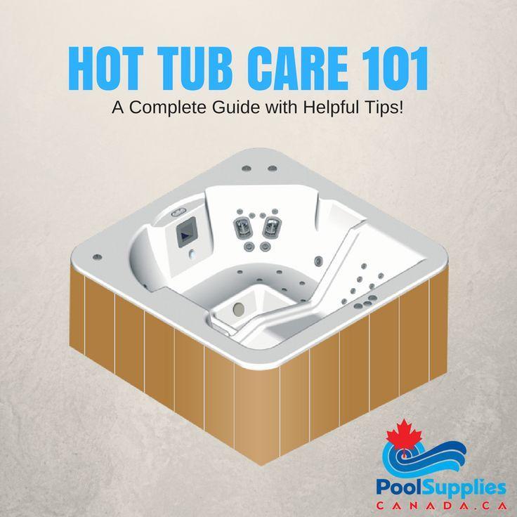 Hot Tub Care 101 Hot Tub Deck Pool Supplies Tub