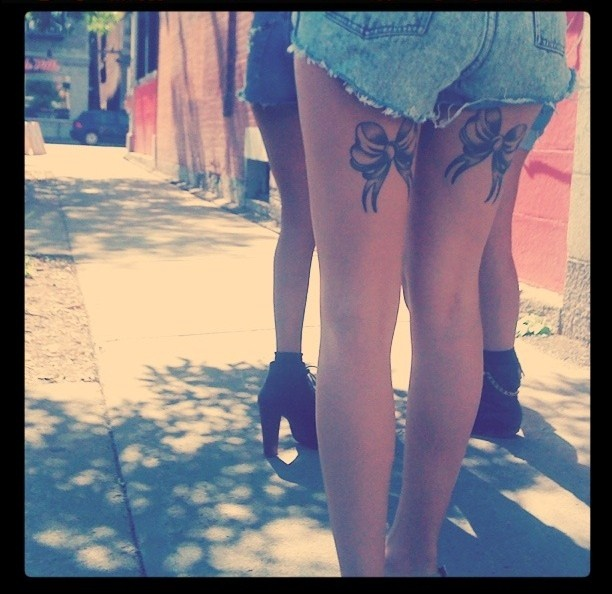 Upper Thigh Something To Think About: 25+ Best Ideas About Back Leg Tattoos On Pinterest