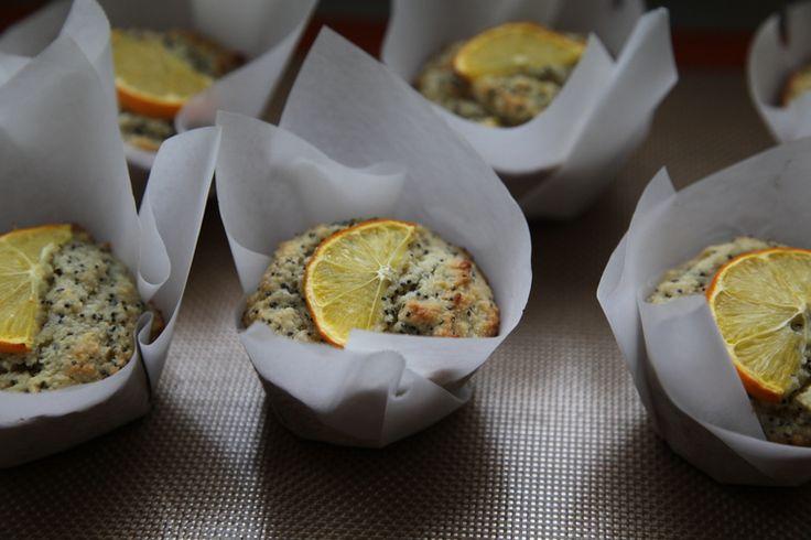 Meyer Lemon Poppyseed Muffins — The Naked Fig