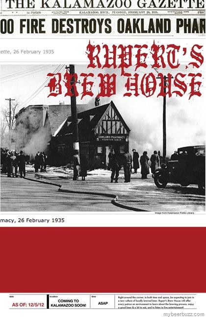Rupert S Brew House Coming To Kalamazoo Mi Mybeerbuzz Pinterest House