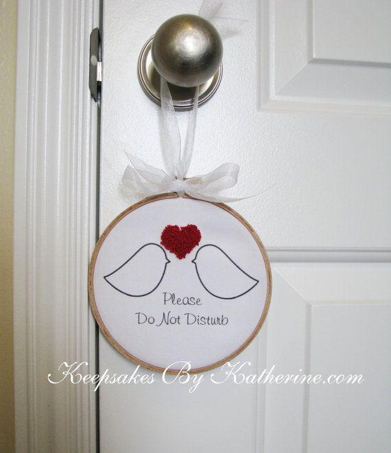Best Door Hangers Do Not Disturb Images On   Door