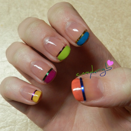 Wild French Tip Nail Designs: 57 Best Nails Images On Pinterest
