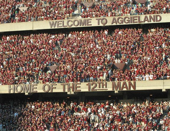 Texas A&M! WHOOP!