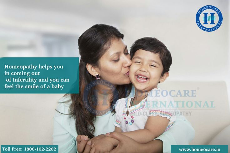 You can come out of infertility problems in a natural way. Homeopathy is the natural way to solve infertility problems. Homeopathy therapy helps you in healing the problem along with that it will provide the inner strength to give a birth to a healthy baby. Approach Homeocare International for free consultation on Homeopathy treatment for Infertility. Visit www.homeocare.in
