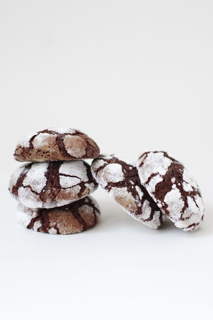 Chocolate crinkles au café et cardamome (Martha Stewart m'a conquise aussi)